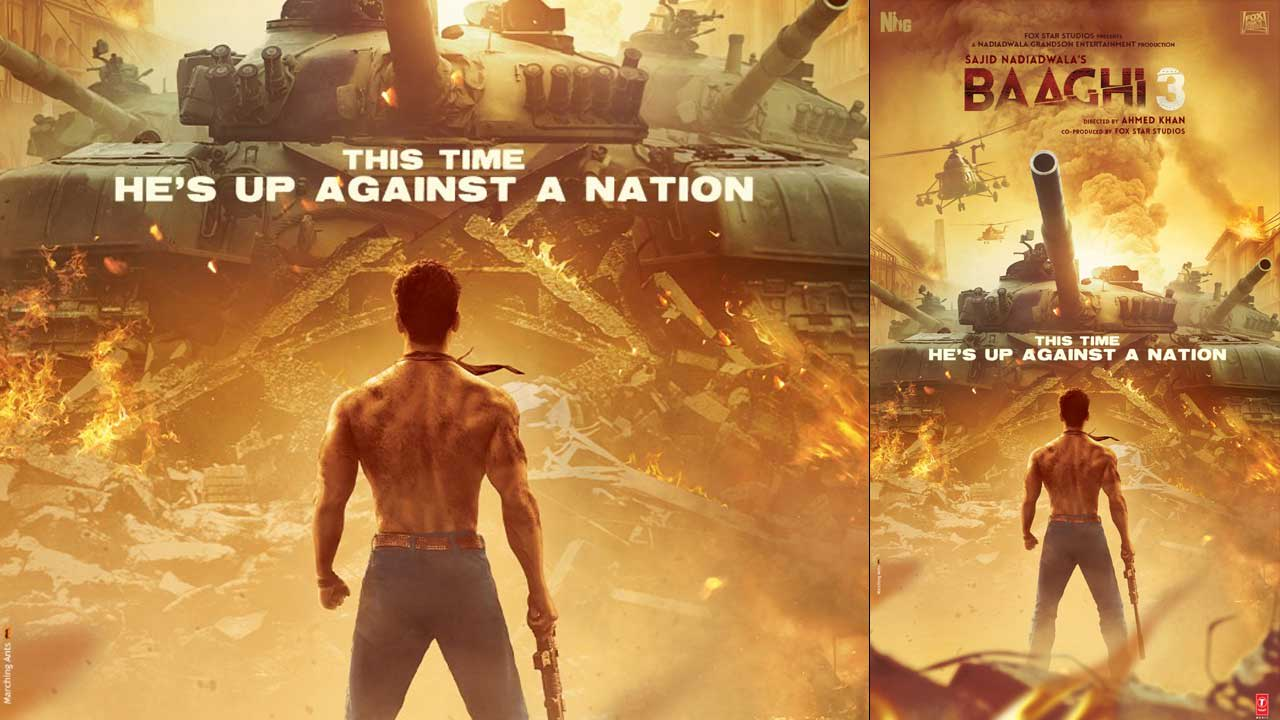 Baaghi 3 first poster